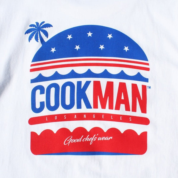 Cookman T-shirts - L.A. Burger - White