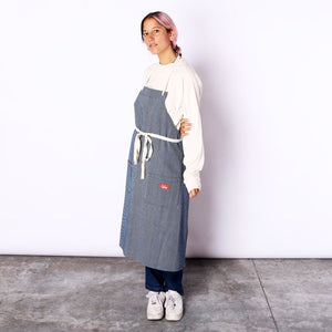 Cookman Long Apron - Hickory : Navy