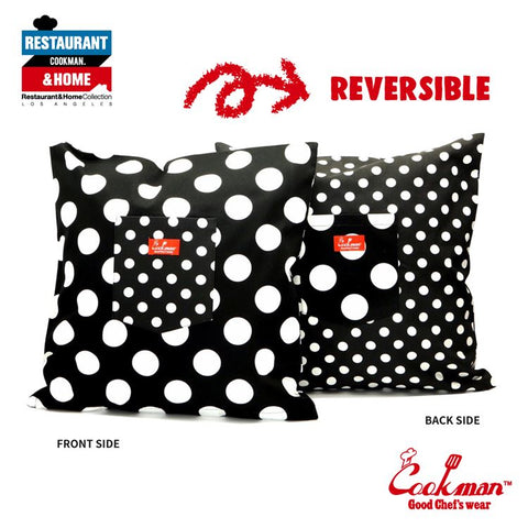 Pocket Cushion Cover (Reversible) - Dots & Big Dots