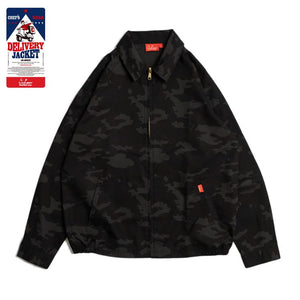 Cookman Delivery Jacket - Ripstop : Camo Black (Woodland)