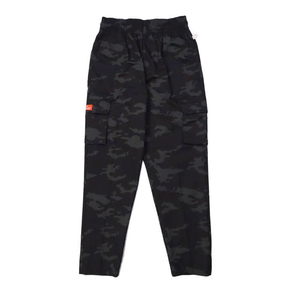 Cookman Chef Pants Cargo - Ripstop : Camo Black (Woodland)