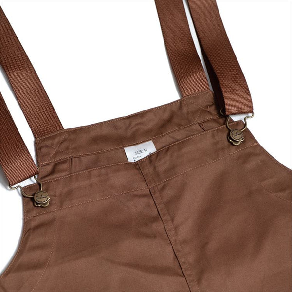 Fisherman's Bib Overall - Chocolate