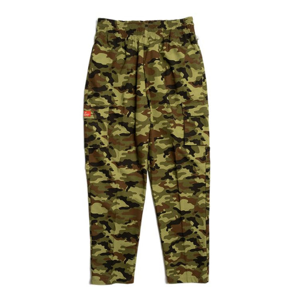Cookman Chef Pants Cargo - Ripstop : Camo Green (Woodland)