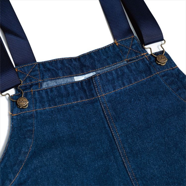 Fisherman's Bib Overall - Denim : Navy
