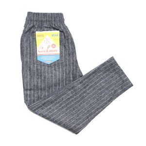 Cookman Chef Pants - Wool Mix Stripe : Light Gray