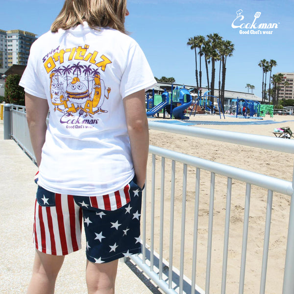 Cookman Chef Short Pants - Crazy : U.S.A.