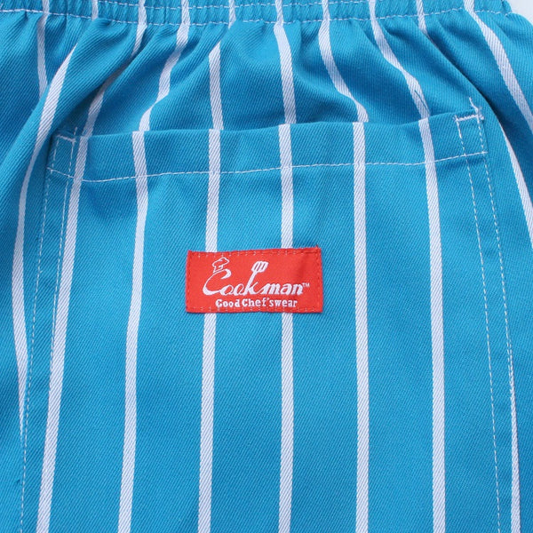 Cookman Chef Short Pants - Stripe : Light Blue