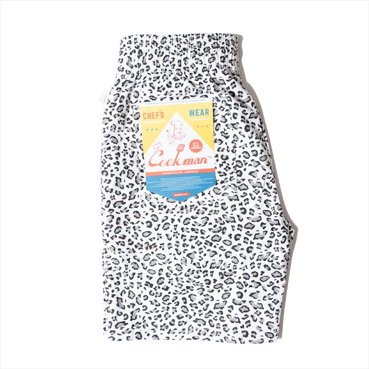 Cookman Chef Short Pants - Snow Leopard