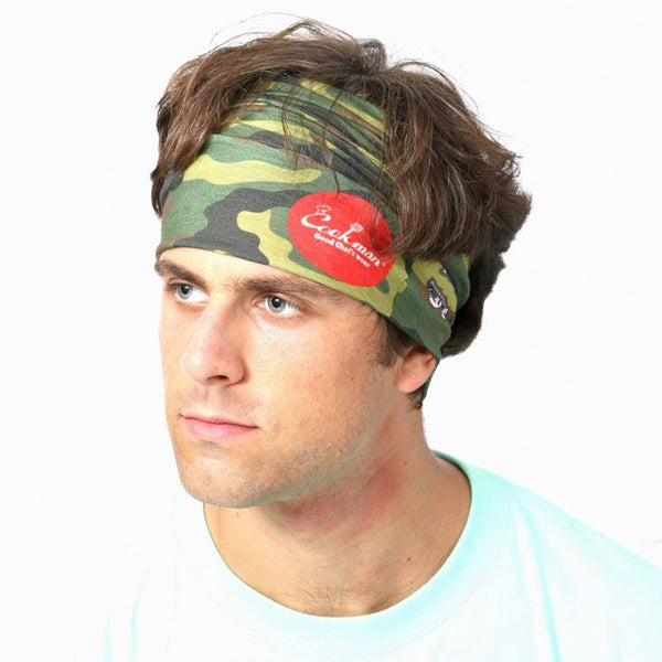 Chef's Scarf - Camo Green  (Woodland)