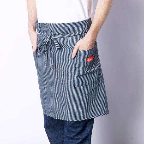 Cookman Waist Apron - Hickory : Navy