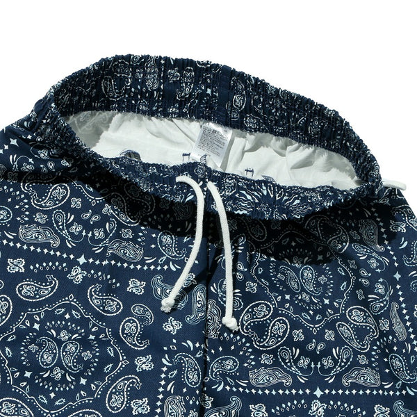 Cookman Chef Short Pants - Paisley : Navy