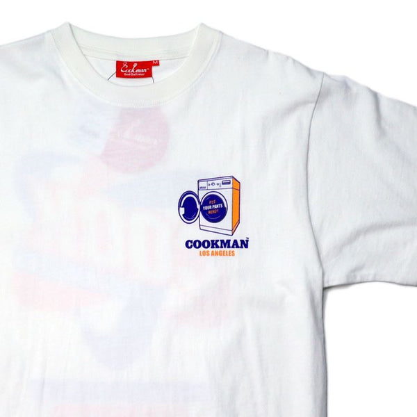 Cookman T-shirts - Laundry - White