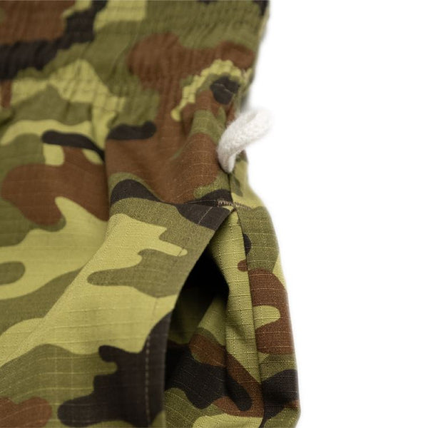 Cookman Chef Pants - Ripstop : Camo Green (Woodland)
