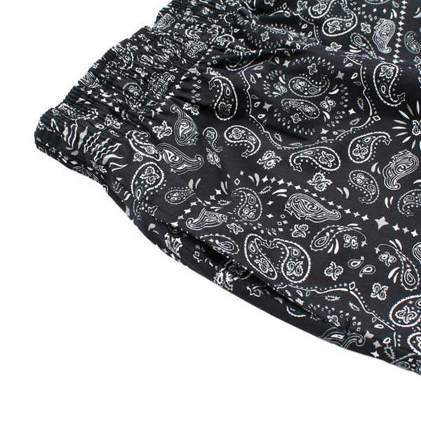 Cookman Chef Short Pants - Paisley : Black