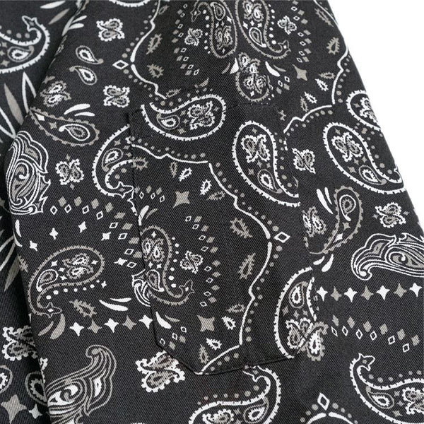 Cookman Delivery Jacket - Paisley : Black