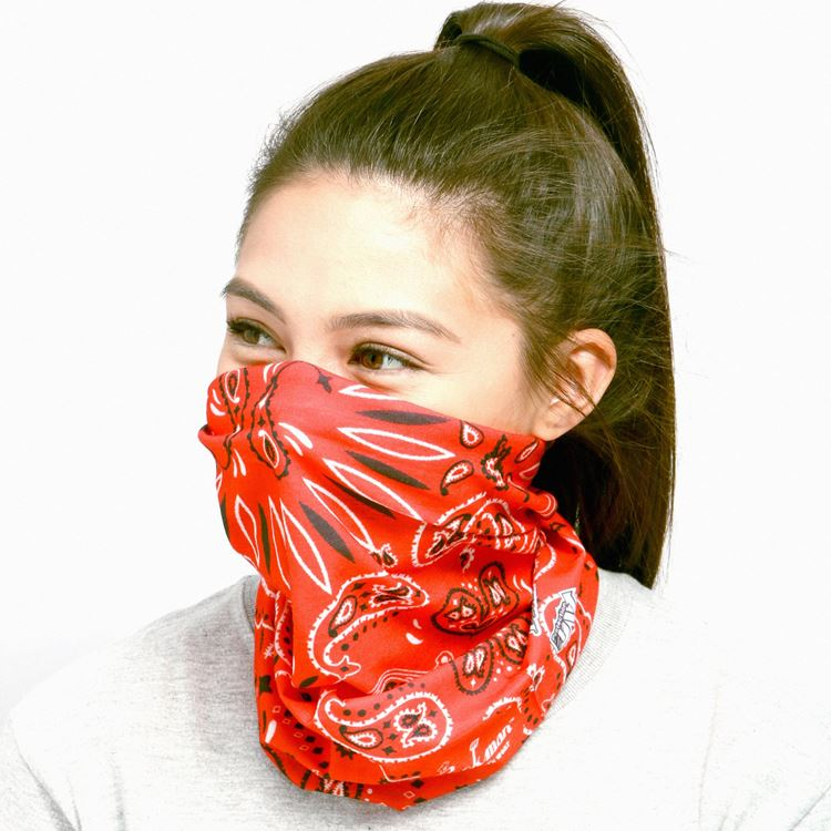 Chef's Scarf - Paisley : Red