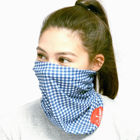 Chef's Scarf - Gingham : Navy