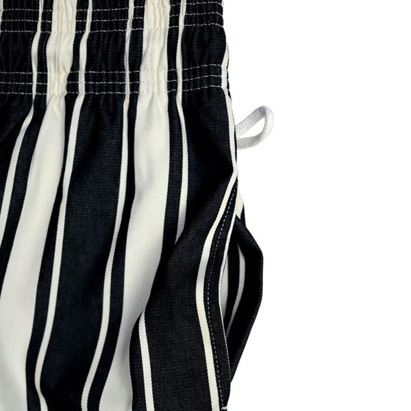Cookman Chef Pants : Awning Stripe - Black