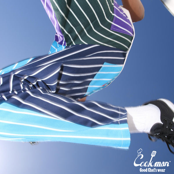 Cookman Chef Pants - Crazy Stripes Cold