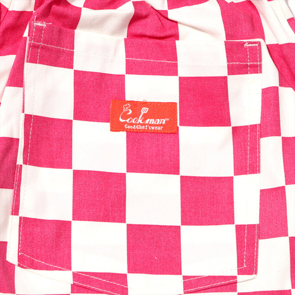 Cookman Chef Pants - Checker Pink