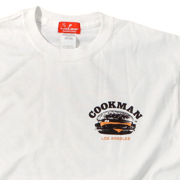 Cookman T-shirts - Burger truck - White
