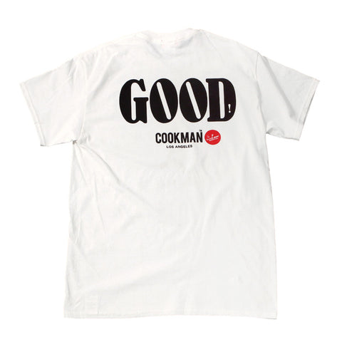 Cookman T-shirts - GOOD - White