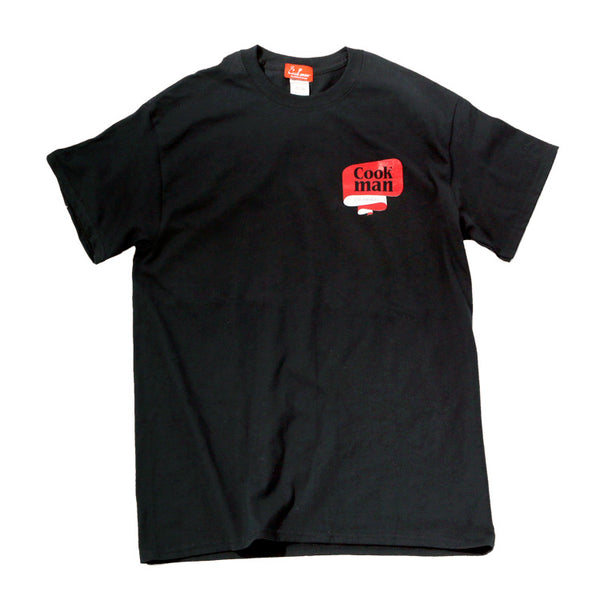 Cookman T-shirts - Tape logo - Black