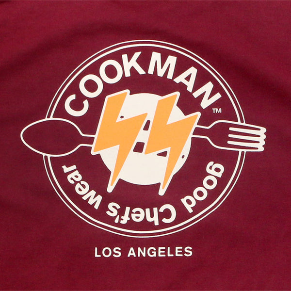 Cookman T-shirts - Thunder - Burgundy