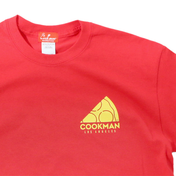 Cookman T-shirts - Pizza - Red