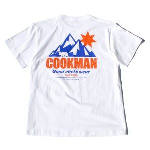 Cookman T-shirts - California Bear - White