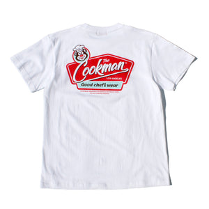 Cookman T-shirts - Signboard - White