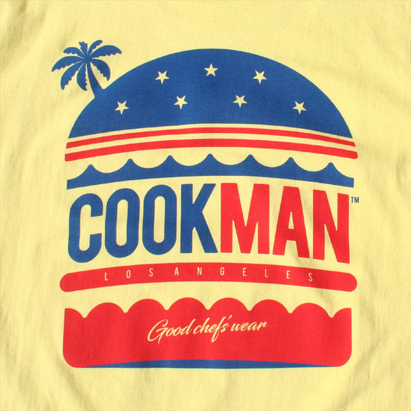 Cookman T-shirts - L.A. Burger - Light Yellow