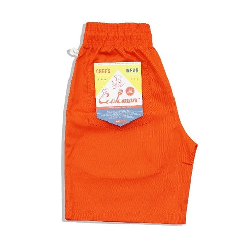Cookman Chef Short Pants - Orange