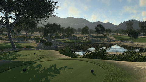 the golf club home golf simulator software