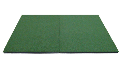 golf launch monitor platform mat