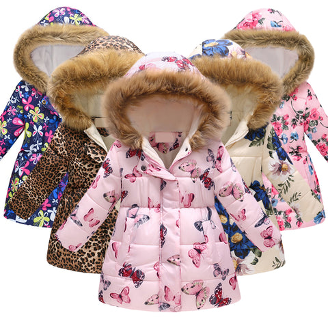 Thick Warm Winter Kids Jacket (available in 35 colors!) - Star Kidz Clothing