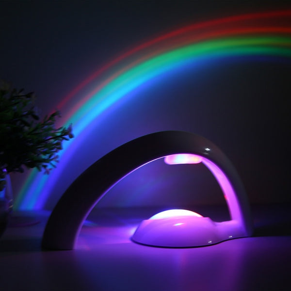 """Rainbow In My Room"" Artificial LED Rainbow Therapeutic Night Light - Star Kidz Clothing"