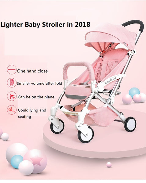 Light Portable Luxury Baby & Toddler Carriage / Stroller - Star Kidz Clothing