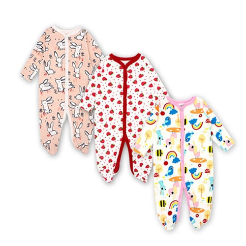 Unisex Baby Rompers ( 3 Different Styles ) - Star Kidz Clothing