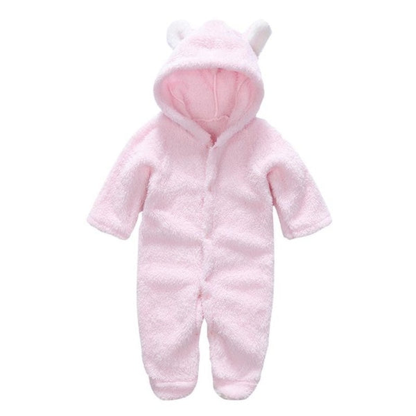 Soft Cotton Bear Jumpsuit (Available In 12 Colors!) - Star Kidz Clothing