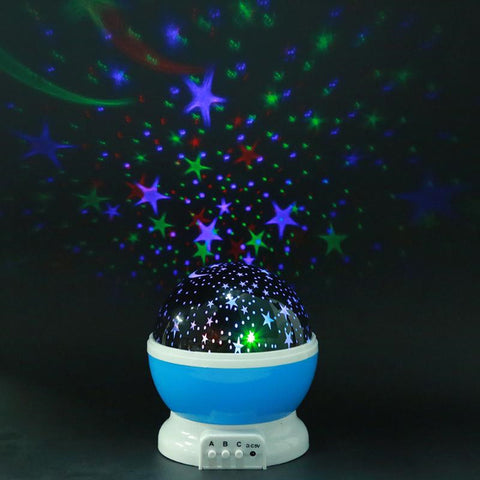 Starry Sky LED Night Light Projector Lamp - Star Kidz Clothing