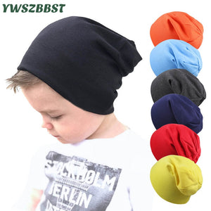 New Baby Street Dance Hip Hop Hat Spring Autumn Baby Hat Scarf for Boys Girls Knitted Cap Winter Warm Solid Color Children Hat - Star Kidz Clothing