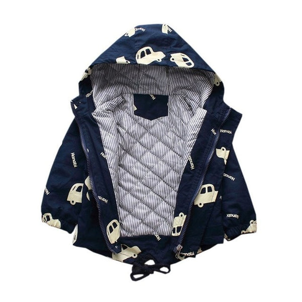 Childrens Winter Outdoor Fleece Jacket Windbreaker - Star Kidz Clothing