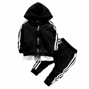 Baby & Toddler Unisex Hoodie Tracksuit 2pc. Outfit - Star Kidz Clothing