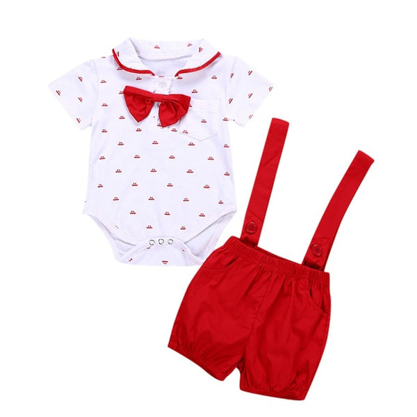 MUQGEW 2019 Hot Sale 2PCS Baby Infant Boys Short Sleeve Romper Clothes  Toddler Pants Set Outfits Dropshipping Baby Clothes - Star Kidz Clothing