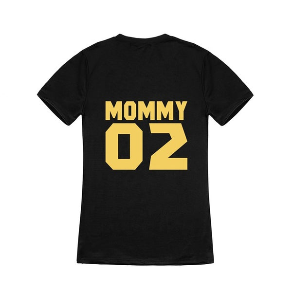 "Matching Family T-shirts DADDY MOMMY BABY KID ""01, 03, 04..."""