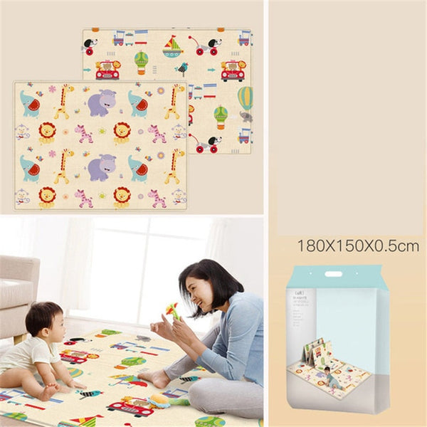 XPE Crawling Mat Infant Play Mat Toys Double-sided Non-slip Puzzle Children's Mat Thickened Infantil Baby Room Floor Carpet Rug - Star Kidz Clothing