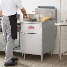 Load image into Gallery viewer, Food Equipment Natural Gas 70-100 lb. Stainless Steel Tube Floor Fryer