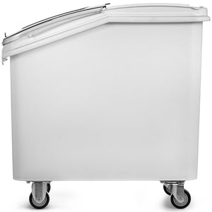 Food Equipment Ingredient Bin with Casters 27 Gallon Transport Restaurant Kitchen Food Storage
