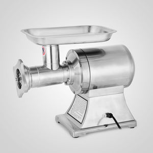 Commercial Kitchen 1.5HP Meat Grinder Stainless Steel 220 RPM Electric Commercial Sausage Stuffer